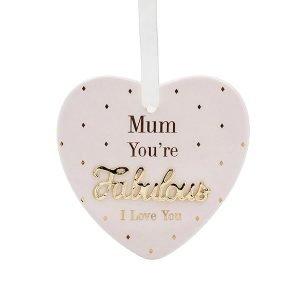 Mum Fabulous Plaque